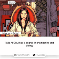 dccomics batman comicbooks: YOUR MOVE,  BELOVED.  Follow me on Twitter!  Talia Al Ghul has a degree in engineering and  biology  VILLAINTRUEFACTs Y G VILLAINPEDIA  O dccomics batman comicbooks