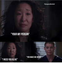 """Sorry for being inactive as one can be. Anyways much love for Cristina Yang 😭❤️ . . . . . . cristinayang meredithgrey greysanatomy: """"YOUR MY PERSON""""  """"YOU MAKE ME BRAVE""""  """"I NEED YOU ALIVE""""  @greysandtwisted Sorry for being inactive as one can be. Anyways much love for Cristina Yang 😭❤️ . . . . . . cristinayang meredithgrey greysanatomy"""