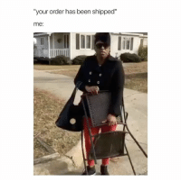 """Urban, Urban Outfitters, and Girl Memes: """"your order has been shippec""""  me: ive waited for my order from urban outfitters for a month now, don't order from them they suck"""