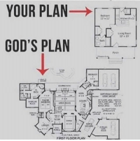 Friends, Memes, and 🤖: YOUR PLAN- -TA  2 13  GOD'S PLAN  rots  FIRST FLOOR PLAN Tag your friends below 🤑👇 Successes