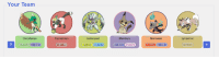 I won't actually stick to this plan cuz I always get attached to some of the things I catch in the beginning, but these are probably my favorites.  https://richi3f.github.io/pokemon-team-planner/: Your Team  Decidueye  GRASS GHOST  Pas simian  GH  Gol isopod  Mimikyu  GORE GHOST  Lycanroc I won't actually stick to this plan cuz I always get attached to some of the things I catch in the beginning, but these are probably my favorites.  https://richi3f.github.io/pokemon-team-planner/