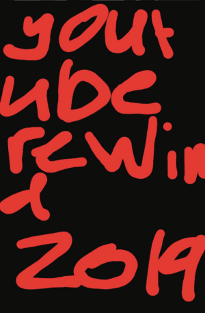 I think this should have been the rewind thumbnail: your  ube  rewin  2019 I think this should have been the rewind thumbnail