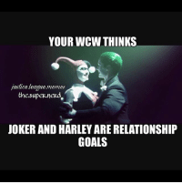 Tag your wcw -Shazam ⚡️: YOUR WCW THINKS  justice league memes  the.supep.nerd  JOKER AND HARLEY ARE RELATIONSHIP  GOALS Tag your wcw -Shazam ⚡️