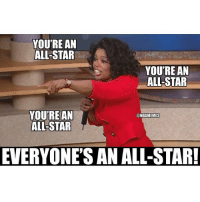 with all the injuries 😂😂😂😂😂😂😂: YOU'RE AN  ALL-STAR  YOURE AN  ALL-STAR  YOUTREAN  @NBAMEMES  ALL STAR  EVERYONE'S AN ALL-STAR! with all the injuries 😂😂😂😂😂😂😂