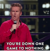 Advice, Chicago, and Dank: YOU'RE DOWN ONE  GAME TO  NOTHING. Brian Regan has some advice for Chicago Cubs fans.