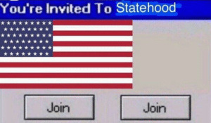 Hawaii, United, and United States: You're Invited To Statehood  Join  Join United States annexes Hawaii (1898)
