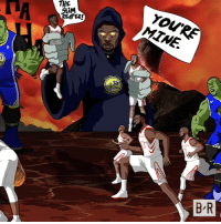 The Warriors overpowered the Rockets in Game 7.: YOURE  MTNE.  DA  THE  SLiM  B R The Warriors overpowered the Rockets in Game 7.