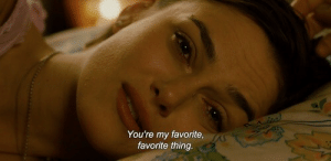 Thing, Youre, and  My Favorite: You're my favorite,  favorite thing.