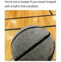 BALLER FACTS 😂 @funnyblack.s ➡️ TAG 5 FRIENDS ➡️ TURN ON POST NOTIFICATIONS: You're not a hooper if you never hooped  with a ball in this condition. BALLER FACTS 😂 @funnyblack.s ➡️ TAG 5 FRIENDS ➡️ TURN ON POST NOTIFICATIONS