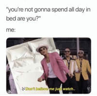 All Day In Bed