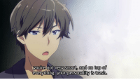 anime_irl: you're not very smart, and on top of  everything, your personality is trash anime_irl
