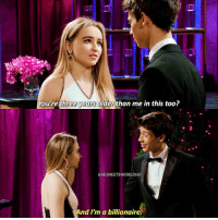 Do you ship Joshaya?: You're three years older than me in this too?  GIRLMEETSWORLDHD  And I'm a billionaire Do you ship Joshaya?