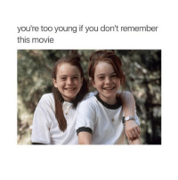 PARENT TRAP😍: you're too young if you don't remember  this movie PARENT TRAP😍