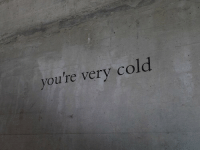 Cold, Youre, and Very: you're very cold