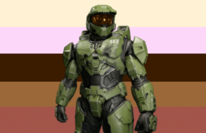 yourfavehasnicetitties:  Master Chief from Halo has nice titties!for anonymous: yourfavehasnicetitties:  Master Chief from Halo has nice titties!for anonymous