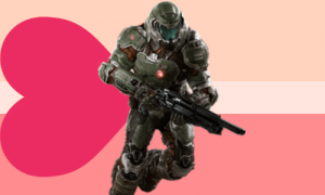 yourfavelovesyouunconditionally:  Doomguy from Doom loves you unconditionally !: yourfavelovesyouunconditionally:  Doomguy from Doom loves you unconditionally !