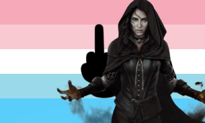 yourfavsaysterfsdie:    Yennefer from The Witcher hates terfs and will steal their kneecaps!: yourfavsaysterfsdie:    Yennefer from The Witcher hates terfs and will steal their kneecaps!