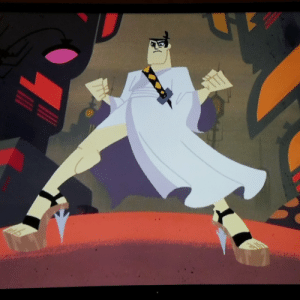 Samurai, Tumblr, and Blog: youronlyhopeishere:  In honor of the recent comeback of Samurai Jack, let us never forget that this legendary hero had fantastic calves