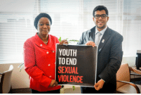 Youth, End, and Sexual: YOUTH  TO END  SEXUAL  VIOLENCE