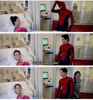 Same girl same<----prob the first thing I would say meeting tom holland. BUT DO YOU REALIZE HE'S LIKE LOL! THAT'S ACTUALLY FUNNY!!?!!?!!: Youtre really cute! Same girl same<----prob the first thing I would say meeting tom holland. BUT DO YOU REALIZE HE'S LIKE LOL! THAT'S ACTUALLY FUNNY!!?!!?!!