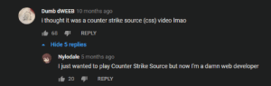 YouTube Commenter Becomes Professional Counter-Strike Player: YouTube Commenter Becomes Professional Counter-Strike Player