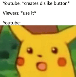 Dank, Memes, and Target: Youtube: *creates dislike button*  Viewers: *use it*  Youtube: How dare they? by ClassicDecimus12 MORE MEMES