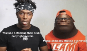 Music, youtube.com, and Company: YouTube defending their broken  copyright system  Music company striking everything  TEAM YouTube is broken