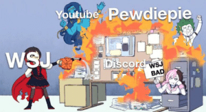 Bad, youtube.com, and Discord: Youtube Pewdiepie  Cnep FOTENTIAL  WSJ  Discord ws  BAD Let's make this format