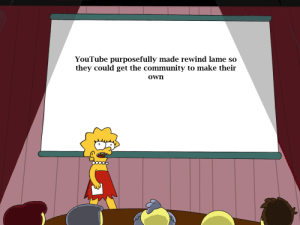 And that's a fact: YouTube purposefully made rewind lame so  they could get the community to make their  own And that's a fact