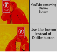 YouTube removing  Dislike  Button  SERIES  Use Like button  instead of  Dislike button  SERIES