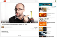 """Bad, Memes, and Money: YouTube  Search  TIMELESS  RETURNS MONDAY1O/9c N  Up next  Autoplay 0  Best Way to Send Nudes?  Vsauce  7,365,594 views  9:42  What's The Most Dangerous  Place on Earth?  sauce  3,333,410 views  9:29  How Much Money is There on  Earth?  E55,787,105 views  15:31  I 007/15.43  What If The Sun Disappeared?  Vsauce  9,658,161 iews  The Grammatical Difference Between """"Hanged"""" and """"Hung""""  11:43  sauce  42 views  44タ' .2  Subscribed 11,359,606  Human Behavion  sauce  49  VIDEOS  Add to  Share More  Published on Apr 15, 201  One is bad, the other good  SPACE STRAW  Vsauce  5,381,244 views  10:13  SHOW MORE  Why Are Bad Words Bad? <p>Buying into Vsauce memes! via /r/MemeEconomy <a href=""""http://ift.tt/2irLMtV"""">http://ift.tt/2irLMtV</a></p>"""