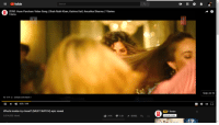 Lol, Saw, and youtube.com: YouTube  Search  ZERO: Husn Parcham Video Song | Shah Rukh Khan, Katrina Kaif, Anushka Sharma | T-Series  Skip Ad I  Ad . 2:41 Ο  youtube com/watch  II  025/3:06  What's inside my closet? (MUST WATCH) epic reveal  3,014,002 views  Ad T-Series  SUBSCRIBE