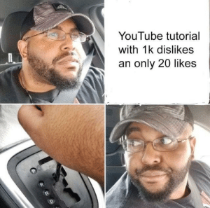 Delete system32: YouTube tutorial  with 1k dislikes  an only 20 likes Delete system32