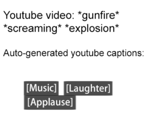 Music, youtube.com, and Video: Youtube video: *gunfire*  screaming* *explosion*  Auto-generated youtube captions:  [Music] [Laughter]  [Applause] me_irl