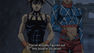 Bizarre, Did, and This: You've already figured out  this bizarre situation. HE DID IT, HE SAID BIZARRE