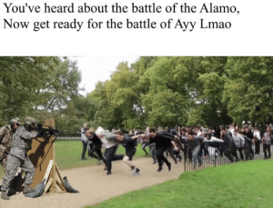Area 51: You've heard about the battle of the Alamo,  Now get ready for the battle of Ayy Lmao Area 51