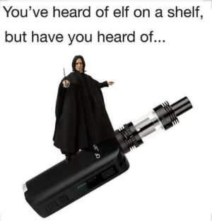 """Elf, Arts, and You: You've heard of elf on a shelf,  but have you heard of... """"Dark arts"""""""