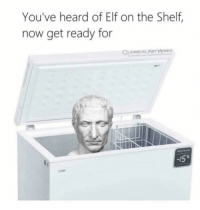 Elf, Elf on the Shelf, and Irl: You've heard of Elf on the Shelf,  now get ready for  CLASSICAL Arn  /5