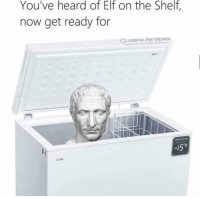 Elf, Elf on the Shelf, and Memes: You've heard of Elf on the Shelf,  now get ready for  CLASSICAL ART  MEMES