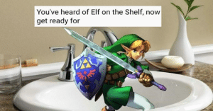 Elf, Elf on the Shelf, and Internet: You've heard of Elf on the Shelf, now  get ready for memehumor:  These Rhyming Elf On The Shelf Memes Have Taken Over The Internet