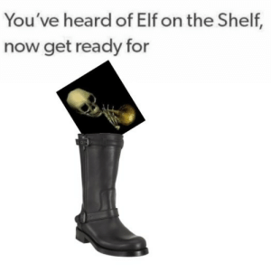 Elf on the shelf: You've heard of Elf on the Shelf,  now get ready for