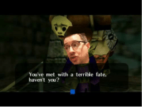 terrible: You've met with a terrible fate,  haven't you?