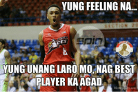 Meme, Beastly, and Filipino (Language): YUNG FEELING NA...  YUNG UNANGLARO MO NAGBEST  PLAYER KA AGAD  Meme Center.com THE BEAST!!!