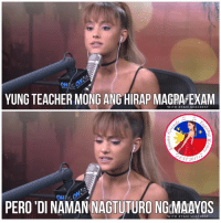 Ariana Grande, Ryan Seacrest, and m.facebook: YUNG TEACHER MONG ANG HIRAP MAGPAPEXAM  WITH RYAN SEACREST  ST 20  PERO DINAMAN NAGTUTURONGMAAYOS  WITH RYAN SEACREST Woop 👀  Get Free Ariana Grande Lockscreens here ❤️: https://m.facebook.com/AGBLockscreens?ref=bookmarks  —ag༄