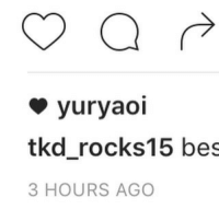 I CANT BELIVE IT SOME ONE LIKED MY. PIC (SORRY IM A LOSER): yur yaoi  tked rocks 15 bes  3 HOURS AGO I CANT BELIVE IT SOME ONE LIKED MY. PIC (SORRY IM A LOSER)