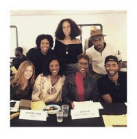 Memes, 🤖, and Rae: YVONNE OR I  Molly  ISSA, RAE  Exec, Producer Issa IssaRae, JayEllis and YvonneOrji preparing for season 2 of InsecureHBO
