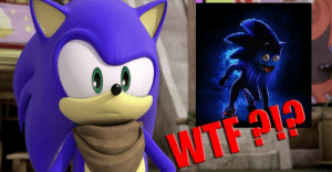 Ywte Olp Cic Live Action Sonic The Hedgehog Movie Poster Is The Stuff Of Sonic The Hedgehog Meme On Me Me