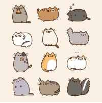 I love ALL of the Pusheen kitties!: z  Z  40  010 ?  @aO  fo  A. I love ALL of the Pusheen kitties!