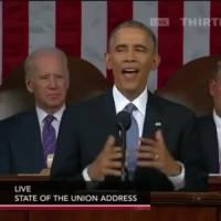 Friends, Funny, and Obama: LIVE  STATE OF THE UNION ADDRESS ➖➖➖➖-🎥 obama from the hood😂-👭 (tag a friend that would like this account)-✅ by unknown