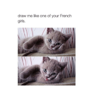 Girls, Drawings, and Girl: draw me like one of your French  girls 💌 — @animalsigns